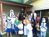May the Fourth be with you - Active School Travel Day, Graceville State School